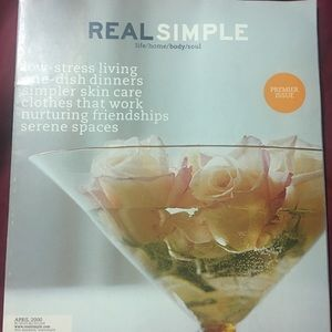 Premiere issue of Real Simple